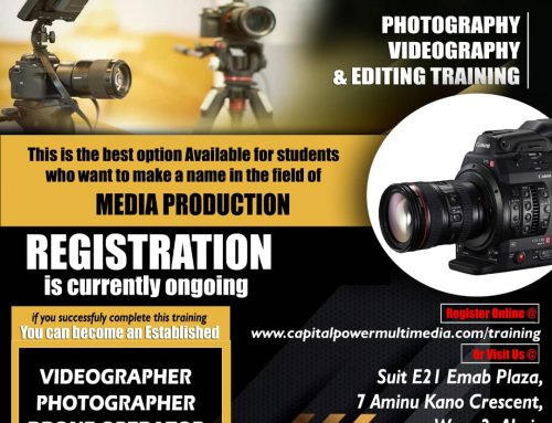 Photography, Videography, Editing Training in Abuja-Nigeria
