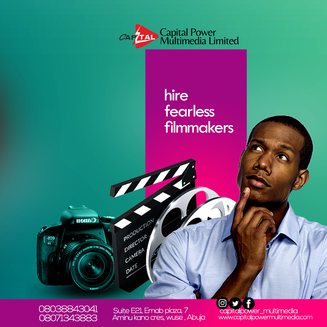 Capital Power Multimedia have fearless filmmakers spread across Nigeria